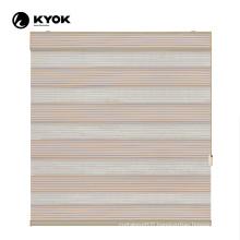 KYOK rainbow pattern tilt and turn aluminium window blinds