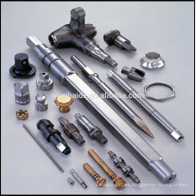 Fabricación de hardware Personalizadas CNC piezas de cobre, piezas de acero inoxidable OEM CNC, piezas de CNC de latón