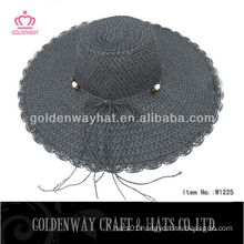 2013 ladies foldable sun hats