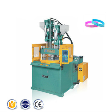 Multi Color Rotary Vertical Injection Molding Machine