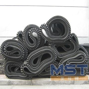 Skirt rubber conveyor belt
