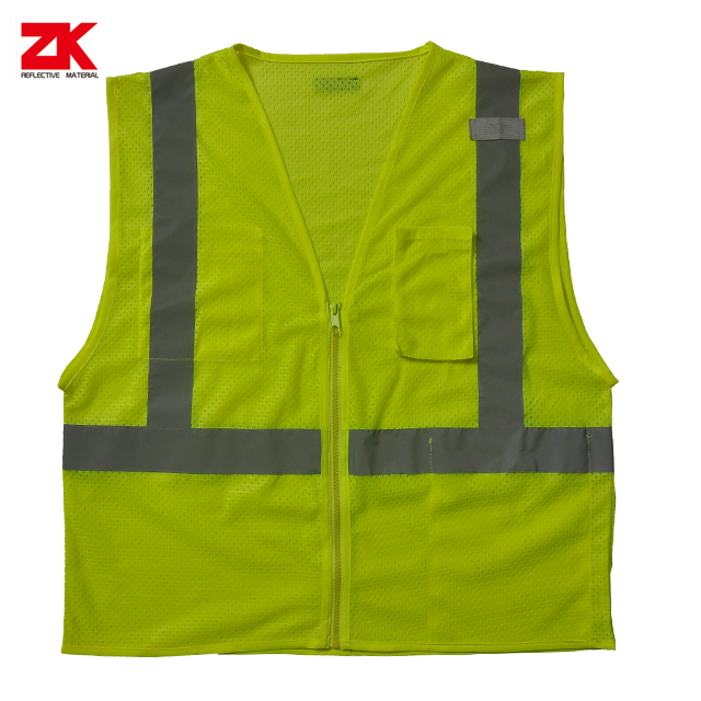 High Visibility Reflective Vest Safety Cloth