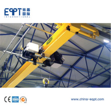 Top quality Professional Single Girder Under Running Bridge Crane