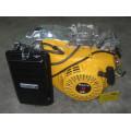 Gx270 9HP (173F) Сельскохозяйственный двигатель с половинным водяным насосом