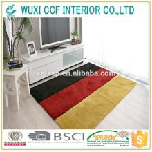 anti-dérapant Tapis changeant de couleur en caoutchouc dorsale tapis de dalle