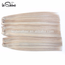 wholesale double drawn virgin remy human hair extention 200g clip in