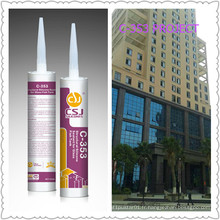 Utilisation et dureté élevées Mastic silicone acétoxy