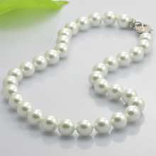 Handmade Pearl Beaded Necklace