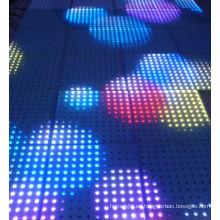 Etapa portátil 3D DJ LED luz del piso