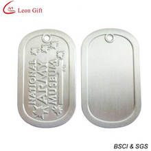 Factory Custom Aluminum Army Dog Tag for Souvenir (LM1609)