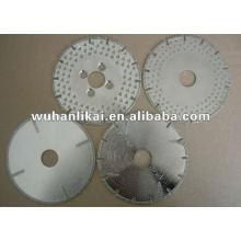 pequeña sierra circular de corte de piedra con diamante