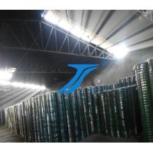 Clôture de terrain revêtu de PVC, clôture de bétail, clôture de ferme Clôture de prairie