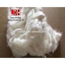 la mejor lana sin procesar amistosa del eco Fibras de pelo del conejo del angora blancas para la hilado del suéter