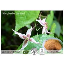 Pure Natural Epimedium Extrac; Extrait de mauvaises herbes de chèvre cornée de 5% à 98% par HPLC
