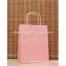 2015 fashion coated paper bags with logo printing