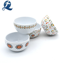 Tazones de cerámica de patrón chino impreso personalizado