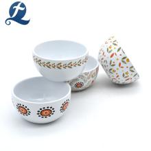 Bacias cerâmicas impressas costume do teste padrão chinês