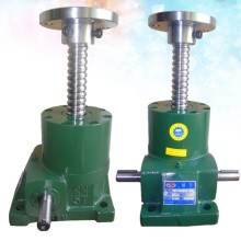 manually hand crank screw jack with hand wheel