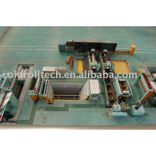 Double Blades fast changing Slitting Line for steel sheet coils