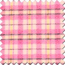 50% Polyester 50% Lã Cheques Tecido de lã para sobretudo