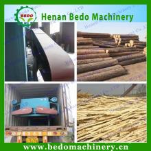Double roller wood logs debarking machine&log/wood debarker