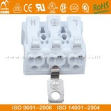 Factory Direct-sale 923 LED Lighting Connector 3 Pins VDE ROHS