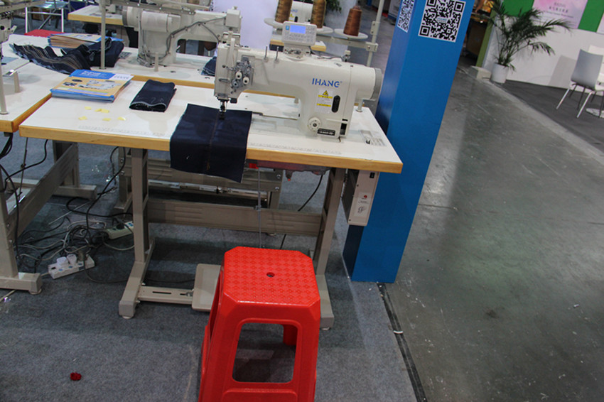 Integrated One Needle Lockstitch Sewing Machine
