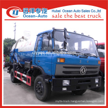 dongfeng 145 fecal suction tanker truck dimensions