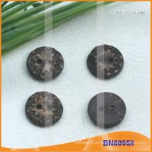 Botões naturais de coco para vestuário BN8095