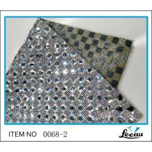 Iron On Adhesive Glass AB Rhinestone Sheet