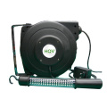 with LED working light power cords reel