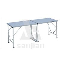 Sj2005-une table pliante en aluminium de 2 m