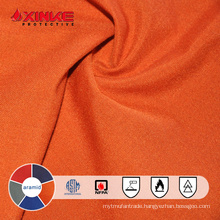 Aramid flame retardant overall fabric
