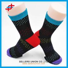 2015 Kintted Custom Colorful Sublimation Sport Elite Socks