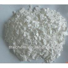 Floco blanco de cloruro de calcio 74% min en China