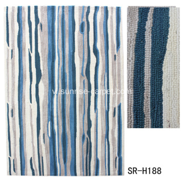 Dyeable Polyester tay nối thảm Rug