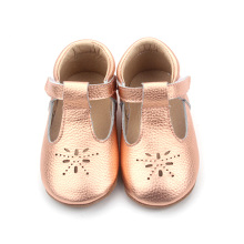 Atacado Infantil Mary Jane Baby T-bar Sapatos