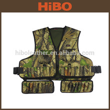 Tourbon hunting camo neoprene wading vest with removable shell holder