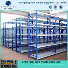 Sistema de almacenamiento industrial Estantería de plataforma de alambre