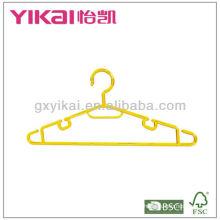 Mutifunctional percha de la camisa de plástico