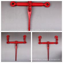Grado 80 rojo impreso de la cadena de tipo trinquete de carga