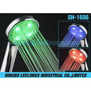 Color Changing Temperature Controlled LED Shower Head Rain