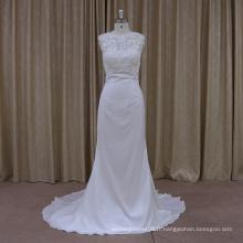 DH011 Nouvelle robe de mariée en dentelle en dentelle 2016