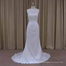 DH011 Новая коллекция русалка кружева свадебное платье 2016
