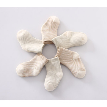 Baby Cotton Socks with Anti-Bacterial and Rib