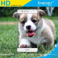 Anti-Scratch 9H Displayschutzfolie aus gehärtetem Glas für Huawei P9