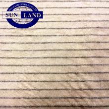 Jersey 100% coton antistatique pour les vêtements