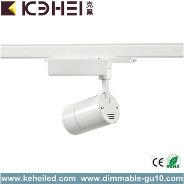 Kvalitet 25W COB LED Spårljus Cool White