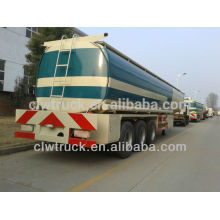 factory supply 40000L fuel oil tank semi trailer,3 axle fuel tank trailer