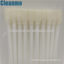 White Big Cleaning Foam Swabs High Quality CM-FS707( TX707A) Swab Sticks for Electronics, Optic Cleaning